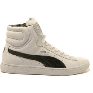 PUMA SZ 9 FIRST ROUND HI TOP SNEAKERS #349227-01